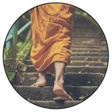 Following Footsteps of Siddhartha